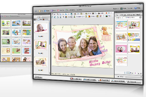photo editing software, photo editor, digital picture editor, photo collage software, scrapbook software, greeting cards software, free photo templates, photo book software, photo calendar
